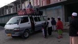 Talibanii folosesc forța și amenințările pentru a alunga sute de afgani de la granița cu Tadjikistan