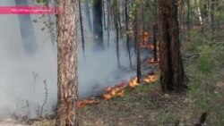 На Ольхоне бушуют лесные пожары