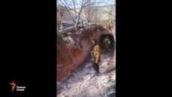 """Кашфи тунелҳои даҳшатафканони гурӯҳи """"давлати исломӣ"""" дар ал-Боби Сурия"""