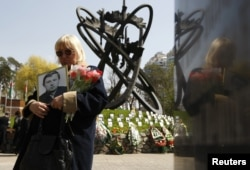 Мемориал жертв Чернобыльской аварии.