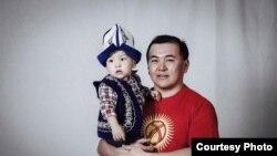 Бакыт с сыном