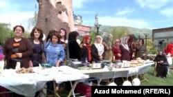 السليمانية:جانب من المهرجان الخامس للغذاء الصحي