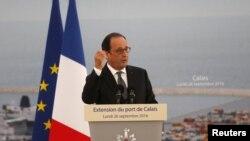 Франсуа Олланд, президент Франции.