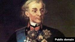 Александр Суворов, фрагмент картины