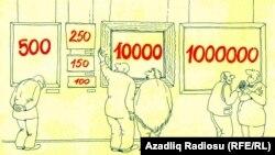 اثری از رشید شریف، کاریکاتوریستی از جمهوری آذربایجان