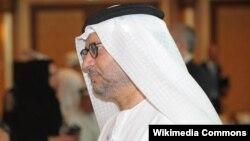انور قرقاش وزیر خارجه امارات متحده عربی