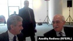 Али Ахмедов (слева) и Иса Гамбар