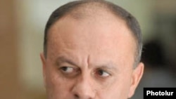Armenian Defense Minister Seyran Ohanian (file photo)