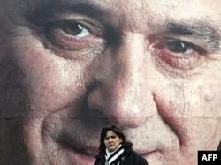 Plakat Tomislava Nikolića u predizbornoj kampanji