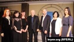 Участники литературного вечера в Симферополе, 13 мая 2018 год