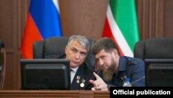 Александр Матовников и Рамзан Кадыров