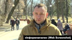 Михайло Макарук, представник спільноти «Інформнапалм»