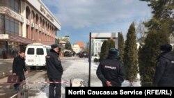 پولیس در داغستان روسیه