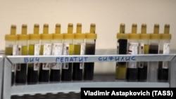 Анализы крови. Иллюстративное фото.