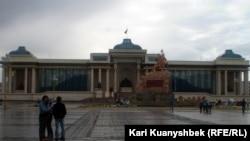 Здание правительства Монголии. Иллюстративное фото.