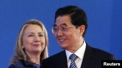 Hilari Klinton i Hu Đintao