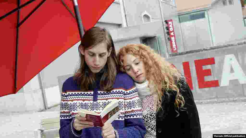 """Специальная программа Виеннале посвящена Жану-Люку Годару. Кадр из его последнего фильма """"Прощай, речь"""""""