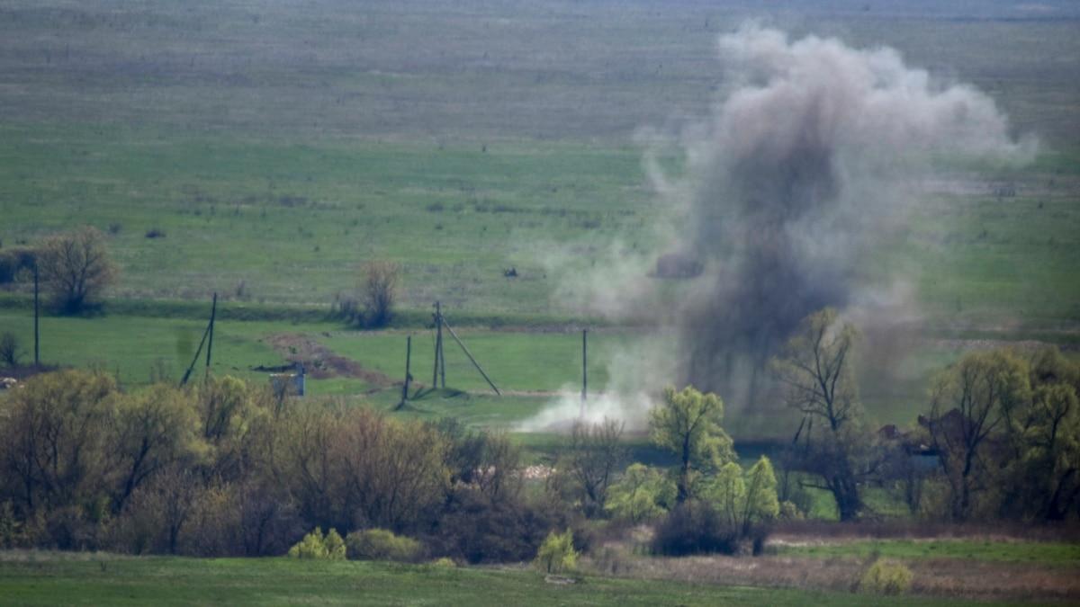 На Донбассе 7 мая получил ранение один украинский военный – Минобороны