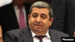 Amenia - Deputy Arakel Movsisian attends a parliament session in Yerevan, 15Dec2014.