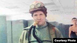 Евгений Завадский, «Қазақмыс» корпорациясына қарасты Жезқазған мыс қорыту зауытының жұмыстан қуылған жұмысшысы. Жезқазған, 14 ақпан 2012 жыл.
