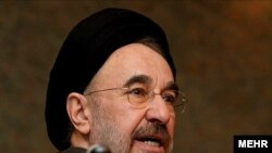 Former President Khatami issued a joint statement calling for the release of detainees
