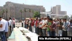 صلاة الجمعة في ميدان التحرير