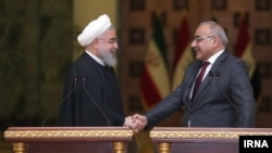 تصویری از سفر قبلی عادل عبدالمهدی به تهران و دیدار وی با حسن روحانی - ۱۷ فروردین امسال