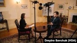 Інтерв'ю Міністра оборони України Степана Полторака «Голосу Америки» у Вашинтоні. Лютий 2018 року.