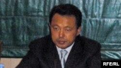 Мұнай және газ министрі Сауат Мыңбаев.