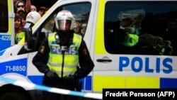 Швециянын полициясы.