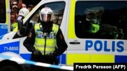 Policia e Suedisë (Foto ilustrim)