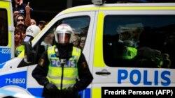 Швеция полициясы (Көрнекі сурет).