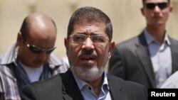 Мохаммед Мурси. Каир, 22 маусым 2012 жыл.