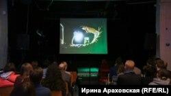 Вечер солидарности с Олегом Сенцовым. Минск, 26 февраля 2018 года