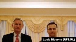 Carl Bildt și Radoslaw Sikorski