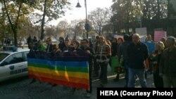 Марш за толеранција во Скопје.