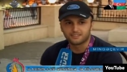 "In its report the Azerbaijani TV station named the ""foreigner"" as ""James Bonar"" and said he was an ""English tourist"" who was attending this month's European Games in Baku."
