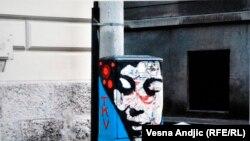 Aleksandar Ðordević, fotograf i dizajner, nedavno je izložio 200 printova fotografija grafita sa beogradskih ulica, novembar 2013.