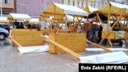 Štandovi na Trgu bana Jelačića