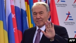Kazakh President Nursultan Nazarbaev (file photo)
