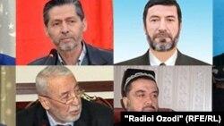 """""""Ислам кайра жаралуу"""" партиясынын абактагы мүчөлөрү"""