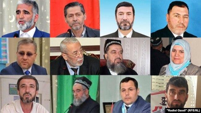 Осужденные активисты и члены ПИВТ