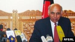 Ашраф Ғанидің бұрынғы кейпі. Кабул, 20 маусым 2009 жыл.