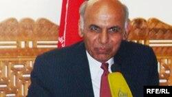 Кандидат в президенты Афганистана Ашраф Гани. Кабул, 20 июня 2009 года.