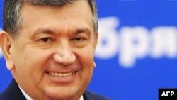 Өзбекстанның премьер-министрі Шавкат Мирзяев.