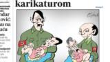 """Sporna"" Coraxova karikatura"