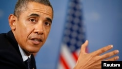 "U.S. President Barack Obama said a proposal calling for Syria to hand over all its chemical arms could be a ""breakthrough."""