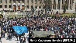 Митинг во Владикавказе (архивное фото)