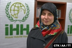 Hana Humpalova said she was happy to finally see the sun after two years in captivity.