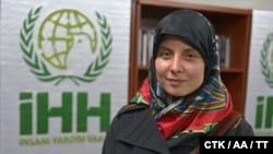 Хана Хумпалова, одна из чешских студенток, похищенная в Пакистане в 2013 году.
